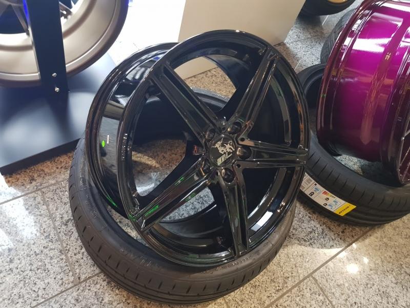 ultra wheels ua7 8 5x19 5x112 schwarz ultra wheels shop. Black Bedroom Furniture Sets. Home Design Ideas