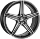 Ultra Wheels UA7 8,5x19 5x112 grau poliert