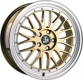 Ultra Wheels UA3 LM 8,5x19 gold m. poliertem Bett