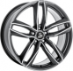 Ultra Wheels UA6 8,5x19 grey polished